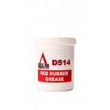 D514 Red Rubber Grease 500gm